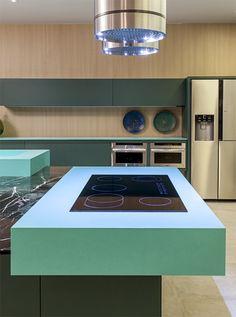 Acqua Fraccaroli, el nuevo color de Silestone® by Cosentino   Experimenta #Silestone #AcquaFraccaroli
