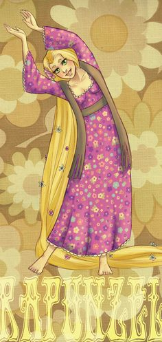 DPP: Retro Rapunzel by *GuardianoftheSword on deviantART