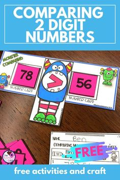 Free Place Value and Comparing Numbers Activities
