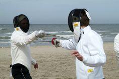 Kies voor een workshop Schermen van de Baak Seaside op het strand van Noordwijk