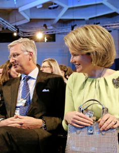 23 January: King Philippe and Queen Mathilde of the Belgians attend to the World Economic Forum in Davos, Switzerland.
