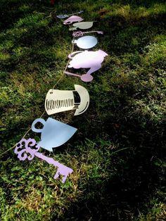Tea-Party-Dekoration-Alice im Wunderland Ammer (Jahrgang, Tea Party, Baby-Dusche, Hochzeit)