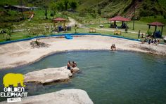 Balneario Alejandria - Antioquia. Una de las atraccciones de Golden Elephant Hostel