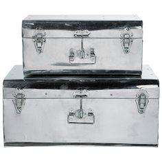 2er-Set Koffer Chrom MDM 49,90