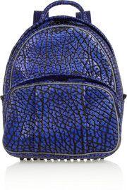 Alexander WangDumbo textured-leather backpack