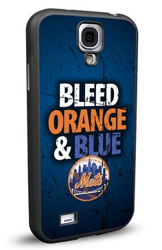 New York NY Mets Cell Phone Hard Case for Samsung Galaxy S5, Samsung Galaxy S4 or Samsung Galaxy S4 Mini