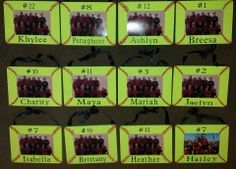 Softball Picture Frames - DIY would love to see this in baseball design too Softball Team Gifts, Softball Party, Softball Crafts, Softball Coach, Girls Softball, Softball Stuff, Cheerleading Gifts, Basketball Gifts, Softball Decorations