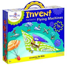 Creativity For Kids SparkLab Smithsonian Invent Fantastic Flying Machines Model Kit ** You can get more details by clicking on the image. Note:It is Affiliate Link to Amazon.