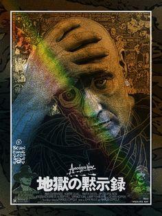 BROTHERTEDD.COM - geekynerfherder: 'Frida' & 'Apocalypse Now' by... All Saints Day, Apocalypse, Screen Printing, Cinema, Movie Posters, Screen Printing Press, Movies, Silk Screen Printing, Film Poster