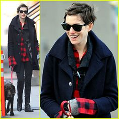 Anne Hathaway - I love this look!!!