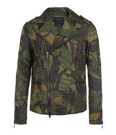Spurr Biker Jacket, Men, Jackets, AllSaints Spitalfields