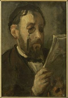 Marcellin Gilbert Desboutin Premium Thick-Wrap Canvas Wall Art Print entitled Edgar Degas (oil on canvas), None Canvas Wall Art, Wall Art Prints, Oil On Canvas, Poster Prints, Canvas Prints, Edgar Degas, French Impressionist Painters, Impressionist Artists, Pierre Auguste Renoir