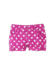Pumpkin Patch - shorts - baby girl bloomer shorts - S4EG50006 - azalea pink - 0-3m to 12-18m