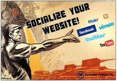 Social Media Wall http://futureformats.nl/diensten/social-media-wall/