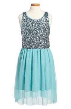 Ruby & Bloom 'Coralie' Sequin High/Low Dress (Big Girls) available at #Nordstrom