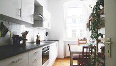 Gemütliche Essecke in Berliner Küche #Esszimmer #Berlin #Küche
