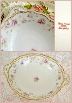 Gorgeous Antique Haviland Limoges Serving Bowl