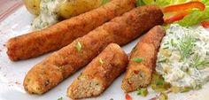 Wałeczki z kurczaka z sosem tatarskim