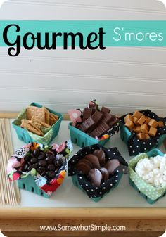 Girls Night Outside: A Gourmet Smores Party {My WoCavé Challenge 2}