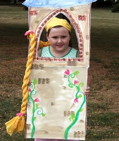 Make a Rapunzel Costume or photo booth