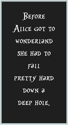 Alice in Wonderland..indeed!