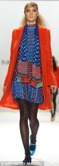 NANETTE LEPORE -- Love the colors!