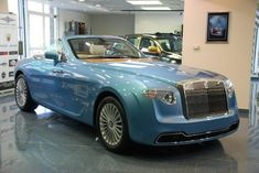 No Fleet Is Complete Without A $6M Rolls-Royce 'Vert just for the wife,  I'll never drive it