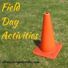 This post is all about field day activities and planning how to throw an awesome field day your students won't forget!!