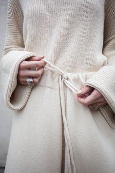 #inspo #cream #knit #detail #thefrankieshop #frankienyc #frankiegirl Lauren Manoogian Miter Shorts in Crudo