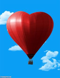 Image detail for -Hot Air Balloon Pictures Gallery - Photoshop Hot Air Balloon Pics Heart In Nature, Heart Art, Air Balloon Rides, Hot Air Balloon, Balloon Pictures, Air Ballon, Heart Balloons, Fire Heart, Valentine Heart
