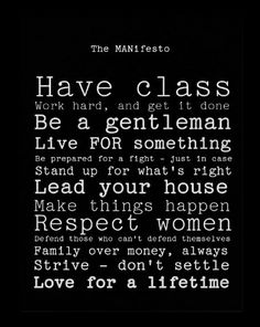 I'm married to the perfect gentleman! ❤