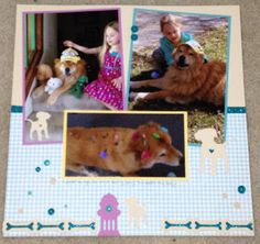 Show and Tell, with Michelle: #Artistry Blog Hop #CTMHZoe - left page of two page layout