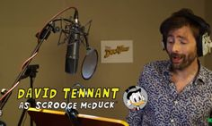 David Tennant Is Going To Voice Scrooge McDuck In 'DuckTales' Reboot | The Huffington Post