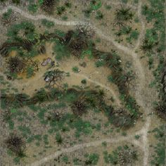 its a huge battle map of a pass