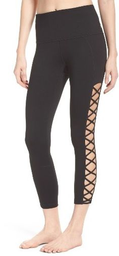 Women's Zella Lace It Up Capris