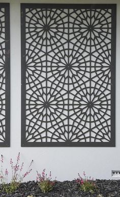 SA Garden Transformation: Front Yard QAQ Decorative Screens & Panel's 'Rome'design was used to transform this SA garden on House Rules. QAQ is a proud supplier of House Rules.