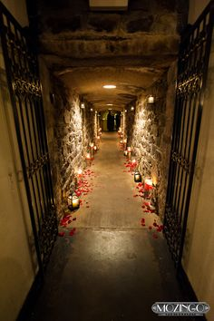 Wine cellar wedding - this looks pretty cool!!!