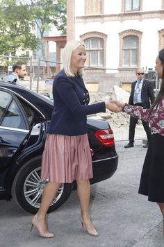 Mette Marit Et Haakon De Norvège À Oslo Le 29 Mai 2017 1