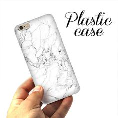 White MARBLE CASE, iPhone 6 case, iPhone 6 marble case, iPhone 5S case, iPad case, marble, iPhone SE case, iPhone case, Phone marble case