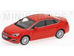 The Minichamps 1/43 Opel Astra 4 Door 2012 Red is a superbly detailed diecast car in the 1/43 scale diecast car collection. Discounts available on all Minichamps products at Wonderland Models.