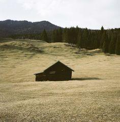 Abandoned cabin in Bavarian Alps nearUnterwossen, Germany. Contributed by Foster Huntington.