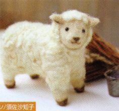 Needle Felting / sheep