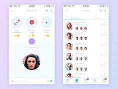 Pindeft - Mobile App (White ver.) by Yaroslav Zaytsev