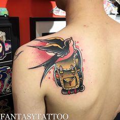 Photo by (pablocortestattoo) on Instagram   #swallowtattoo #backpacktattoo       #tattoo #tattoos #tattoolife #tattooart #tattooist #tattooer #tattooed #ink #inked #blacktattoo #tattoolife #art #artist #tattooartist #fantasytattoo #oldschool #oldschooltattoo #Japantattoo #Japanesetattoo #irezumitattoo Fantasy Tattoos, Swallow Tattoo, Japan Tattoo, Irezumi Tattoos, Life Tattoos, Black Tattoos, Cover Design, Tattoo Artists, Tattoo Designs