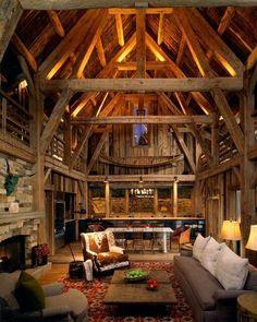 Weber Canyon Timber Frame Home (10 Photos)