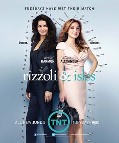 Rizzoli & Isles; EEEPPP!!! I'm sooo excited for this season! Yayyy! =]