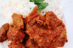 Goan Pork curry. The original Vindaloo. (Vinegar and garlic)