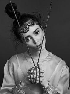 visual optimism; fashion editorials, shows, campaigns & more!: purity: aliya galyautdinova by nicolas guerin for schön!
