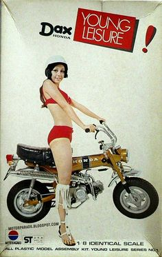 Posts about brochures written by themarquis Motos Honda, Honda Bikes, Classic Honda Motorcycles, Vintage Motorcycles, Honda Dax, Ducati, Yamaha, Motorcycle Posters, Motor Scooters