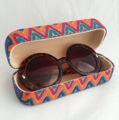 Tortoise sunglasses with matching case, $19.95